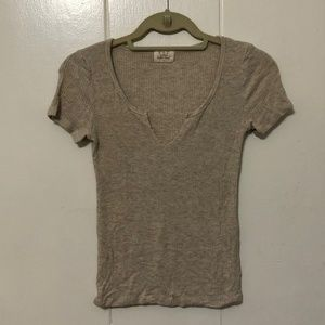 XS Project Social Tee ribbed henley